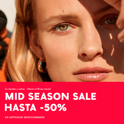 MANGO: MID SEASON SALE