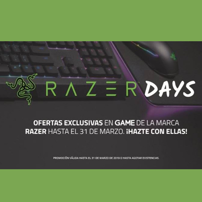 GAME: OFERTAS RAZER