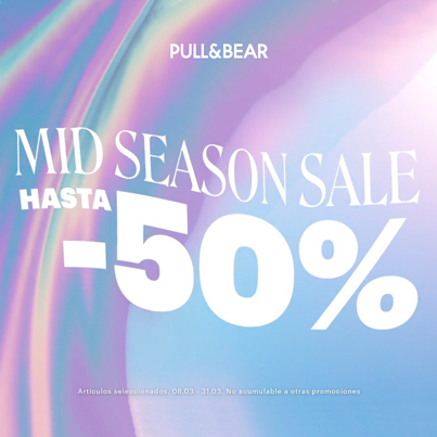 PULL&BEAR: MID SEASON SALE